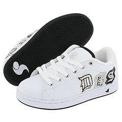 DVS Shoe Company Revival Applique W White Leather Studs