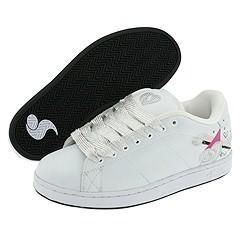 DVS Shoe Company Revival Graphics W White Leather Heart