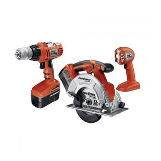Black & Decker FS318SC 2 FireStorm 18v Cordless 3 tool Combo Kit