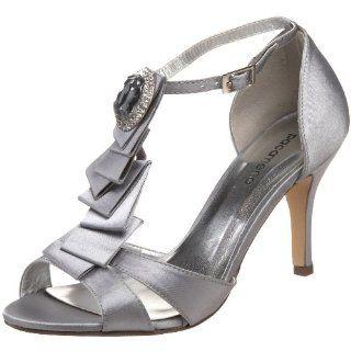 Paco Mena Womens Rana Pump,Pearl Grey,38 M EU/8 B(M) Shoes