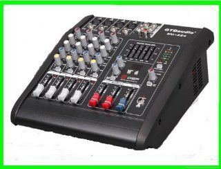 GTD Audio BM 224 500Watt 4 Channel Audio Powered Mixer