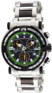 Chase Durer Mens 224.2BE BRA Trackmaster Pro Chronograph 2nd Edition