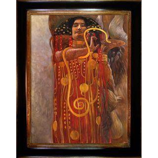 Gustav Klimt Hygieia Framed Art
