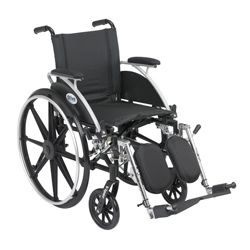Drive Medical Viper Wheelchair with Flip back Desk Arms and Front