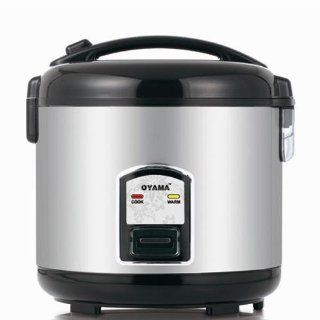 Oyama All Stainless Steel 10 Cup Rice Cooker / Warmer