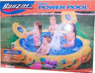 Banzai Flower power Pool Set with Cute and Cool Sprinkling