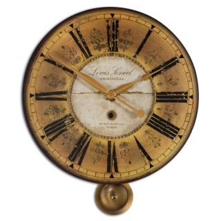 Louis Leniel Cream and Gold Wall Clock Today $107.80