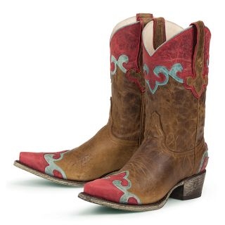 Lane Boots Womens Brown Dakota Cowboy Boots
