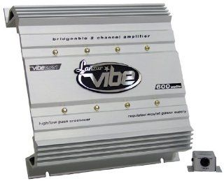 Lanzar VIBE221 Vibe 600 Watt 2 Channel Mosfet Amplifier