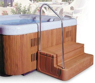 Step n Stow 6130340 Concept 1 Spa Steps   Light Redwood