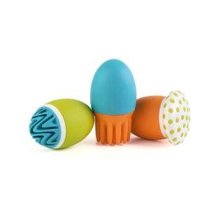 Boon Scrubble Interchangable Bath Squirt Toy Set