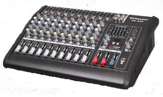 Gtd Audio BM 228 500Watt 10 Channel Audio Powered Mixer