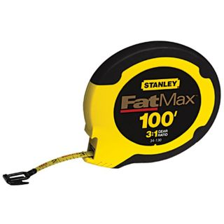 Stanley 100 foot Fat Max Tape Measurer Today $26.45