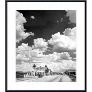 Andreas Feininger Texaco Gas Station on Route 66, Arizona Framed