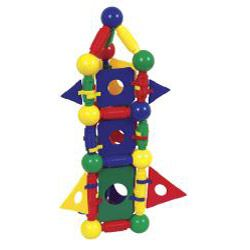Guidecraft 148 piece Magneatos Jumbo Magnetic Construction Master