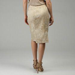 Lafayette 148 Womens Etro Filigree Paisley Lola Skirt