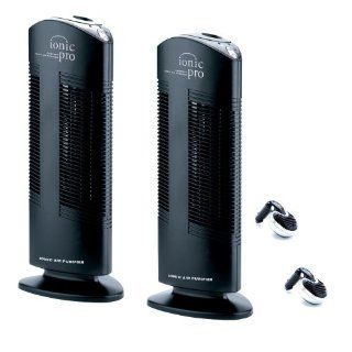 Ionic Pro CA200T Twin Pack Compact Ionic Air Purifier with