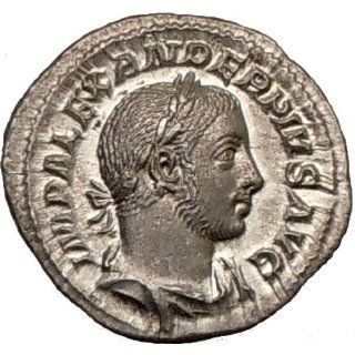 SEVERUS ALEXANDER 231AD Authentic Ancient Silver Roman Coin QUALITY