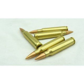223 / 5.56 Dummy Training rounds   Brass case   5pc set