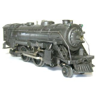 Steam Engine Locomotive No. 229 with Gunmetal Finish Everything Else