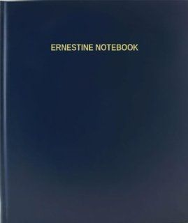 BookFactory® Ernestine Notebook   120 Page, 8.5x11