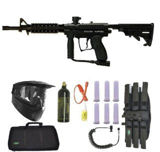 Spyder MR1 Tactical RIS Combat Paintball Gun SNIPER SET