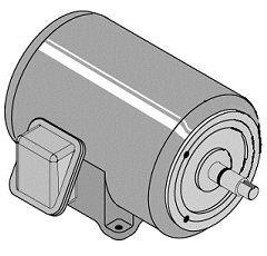 Series 3 HP Motor 230/460V/60H/3 Ph. C218179 Patio, Lawn & Garden