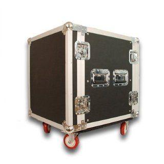 Seismic Audio   12 SPACE RACK CASE for Amp Effec Mixer PA