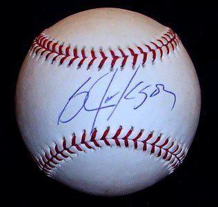 Bo Jackson Memorabilia Signed Official MLB Baseball