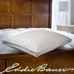 Eddie Bauer PrimaDown 340 Thread Count Jumbo size Pillow Today $36.49