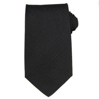 Versace Mens Textured Greek Key Silk Tie
