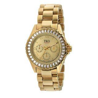 TKO Orlogi Womens Capri Multi function Crystal Bezel Watch