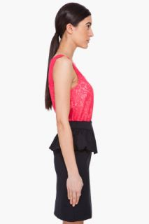 Marc By Marc Jacobs Red Silk Muriel Tank Top for women