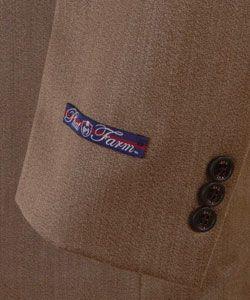 Phat Farm Mens Tan Three button Suit