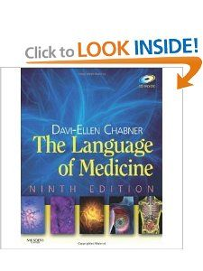 By Davi Ellen Chabner BA MAT The Language of Medicine Ninth (9th
