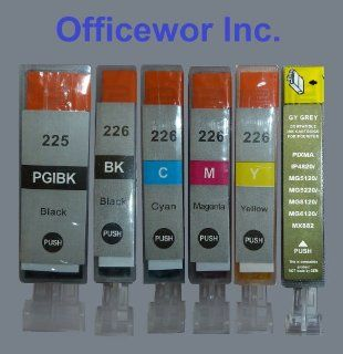 Compatible Canon Pgi 225 & Cli 226 Ink Cartridges W/chip