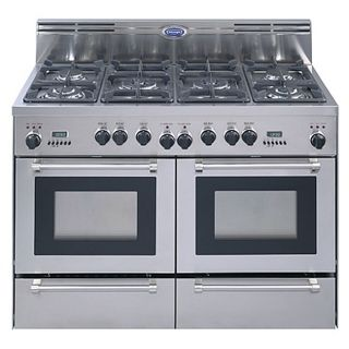 DeLonghi 48 inch Stainless Steel Freestanding Dual Fuel Gas Range