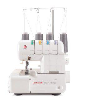 SINGER 14J250 Stylist II Serger Overlock Machine with 2 3