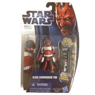Star Wars 2012 Clone Wars Action Figure CW Commander Fox