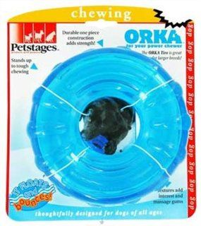 Petstages ORKA Dog Tire: Pet Supplies
