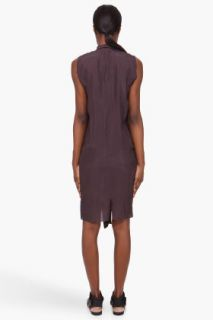 Damir Doma Silk Deep Neck Dress for women