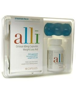 Alli Orlistant Weight Loss Aid Starter Pack (90 Capsules)