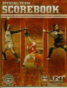 Official Team Scorebook (ASA   USA Softball): USA Softball: