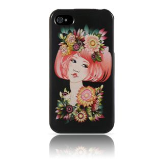 Luxmo Apple iPhone 4/ 4S Flower Girl Protector Case