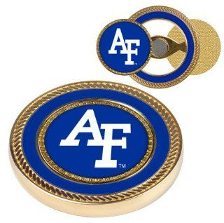 Air Force Academy Falcons Gold Challenge Coin with Ball