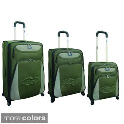 piece Expandable Spinner Luggage Set Today $158.99