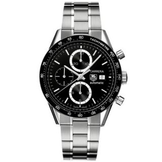 Tag Heuer Mens Carrera Automatic Chronograph Watch