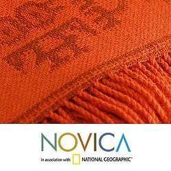 Alpaca Wool Paracas Summer Blanket (Peru)