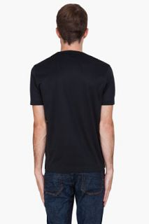 Paul Smith  Black Water Print T shirt for men