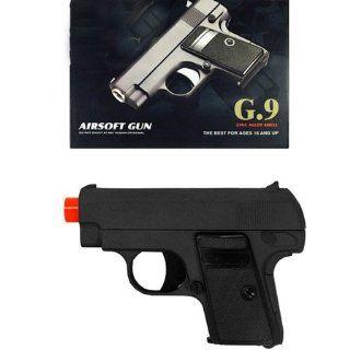 Spring Airsoft Gun Black Shoots Around 230 FPS